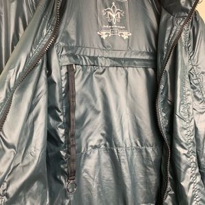 Mackage Perla Packable Rain Coat in Forest Green
